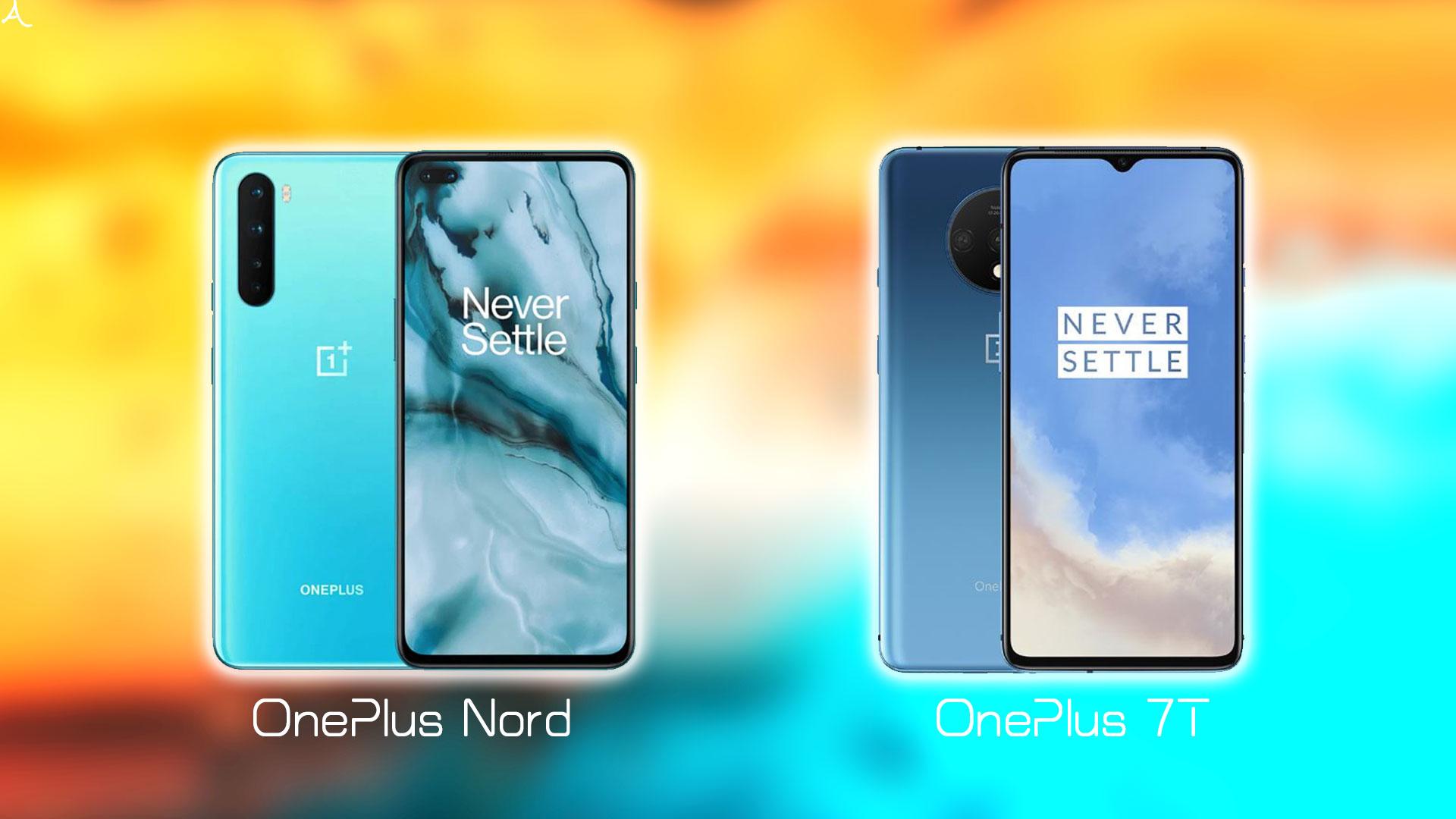 「OnePlus Nord」vs.「OnePlus 7T」: 日本で買うならどっち?スペックや違いを比較