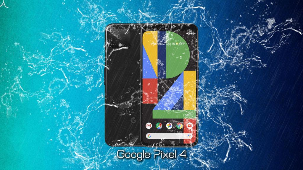 「Google Pixel 4」の防水性能ってどれくらい?「IP68」って本当?