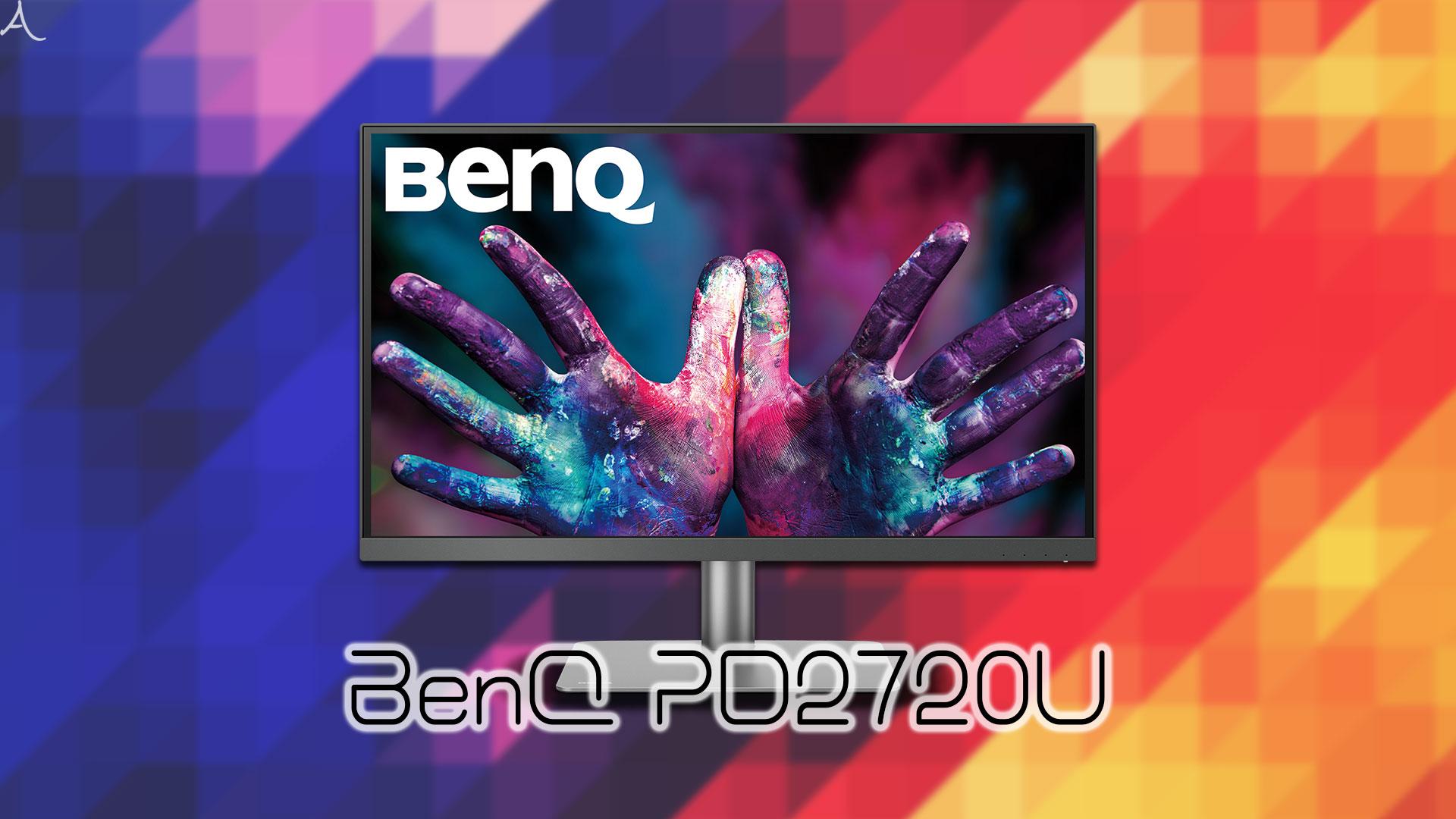「BenQ PD2720U」ってモニターアーム使えるの?VESAサイズやおすすめアームはどれ?