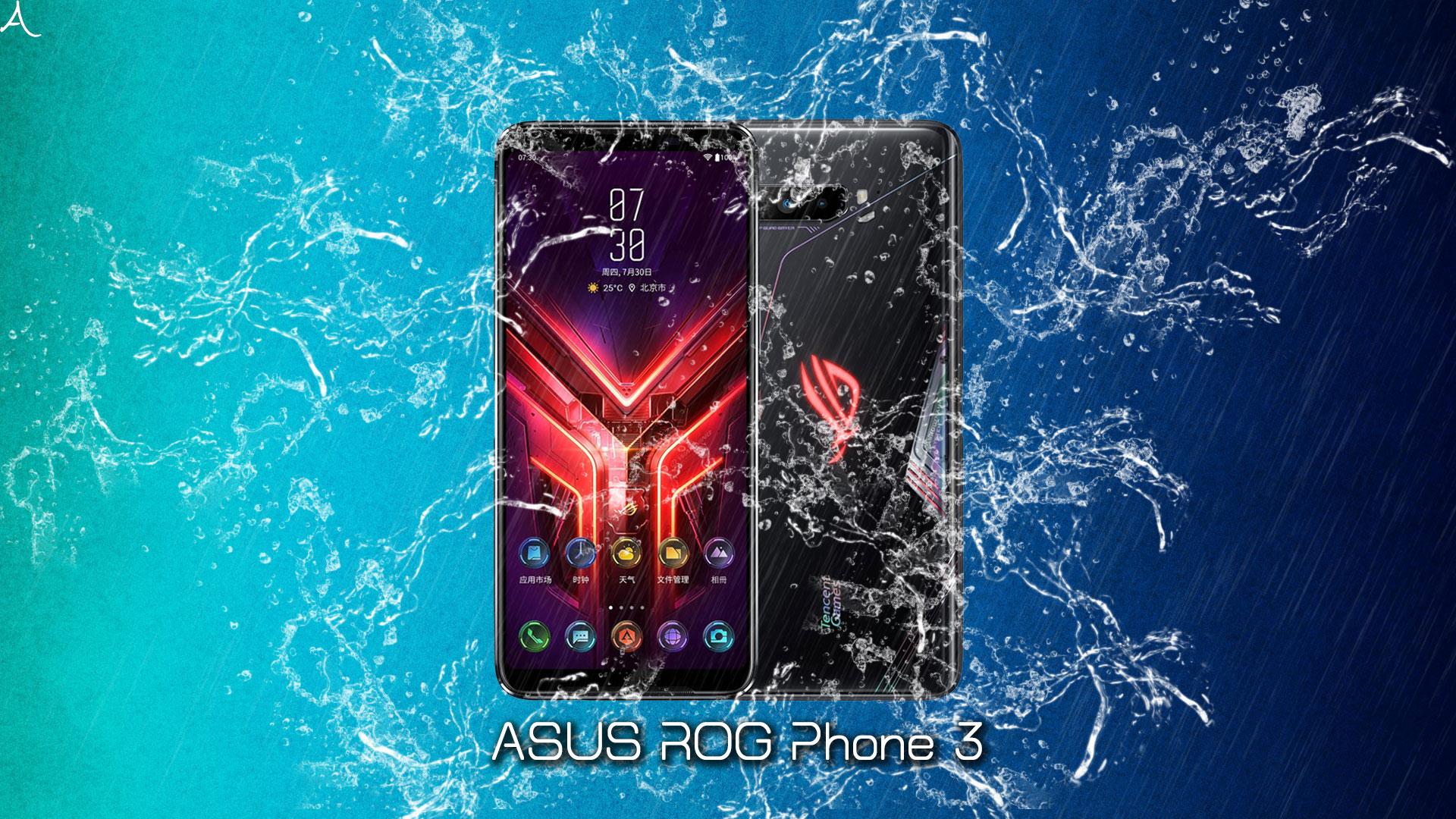 「ROG Phone 3」の防水性能ってどれくらい?水に濡れても大丈夫?