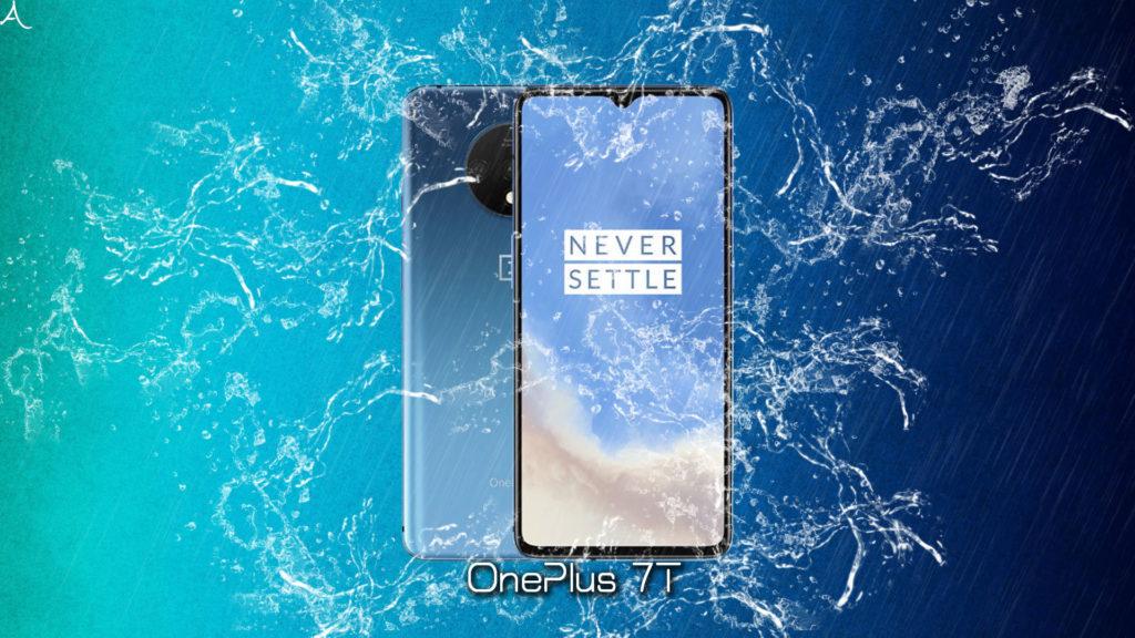 「OnePlus 7T」の防水性能ってどれぐらい?何分・何mなら耐えられるの?