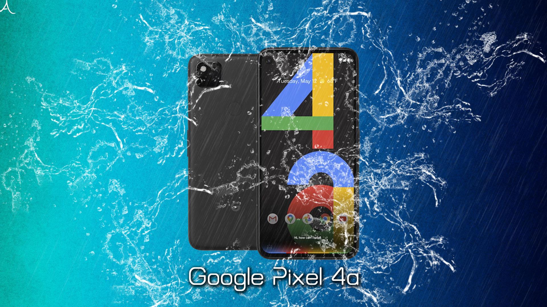 「Google Pixel 4a」の防水性能ってどれくらい?何分・何mなら耐えられるの?