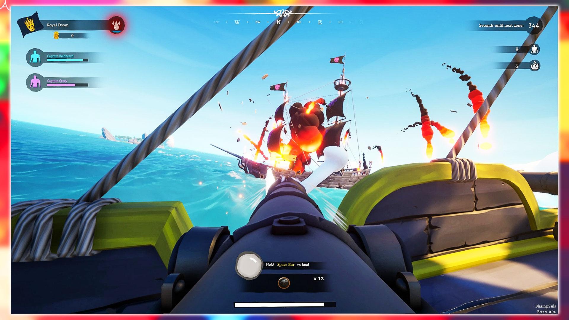 PC版「Blazing Sails: Pirate Battle Royale」に必要な最低/推奨スペックを確認