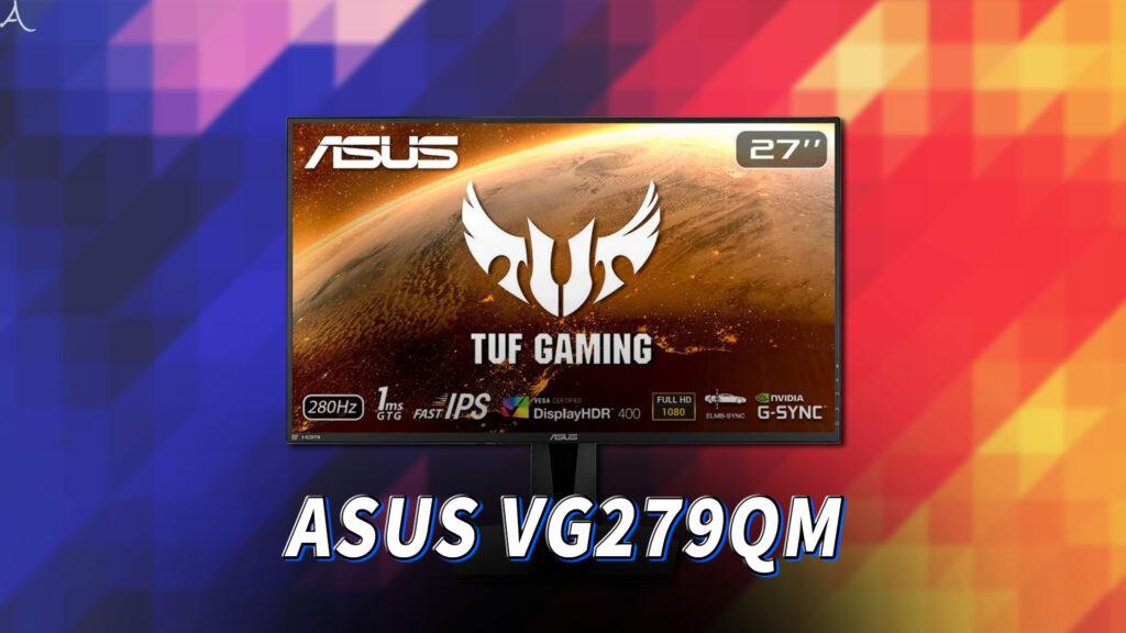 「ASUS TUF Gaming VG279QM」ってモニターアーム使える?VESAサイズやおすすめアームはどれ?