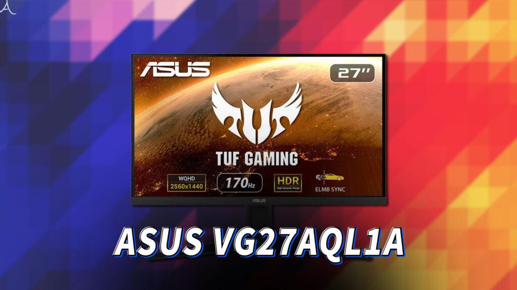 「ASUS TUF Gaming VG27AQL1A」ってモニターアーム使える?VESAサイズやおすすめアームはどれ?