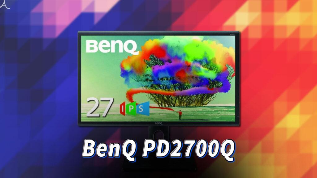 「BenQ PD2700Q」ってモニターアーム使えるの?VESAサイズやおすすめアームはどれ?
