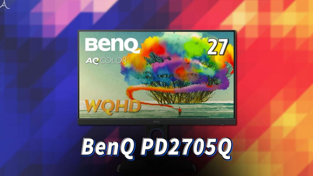 「BenQ PD2705Q」ってモニターアーム使えるの?VESAサイズやおすすめアームはどれ?