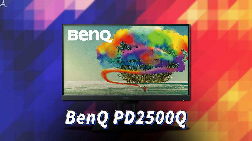 「BenQ PD2500Q」ってモニターアーム使えるの?VESAサイズやおすすめアームはどれ?