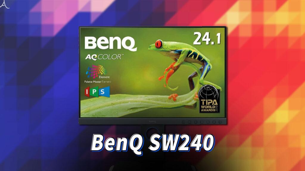 「BenQ SW240」はスピーカーに対応してる?PCスピーカーのおすすめはどれ?