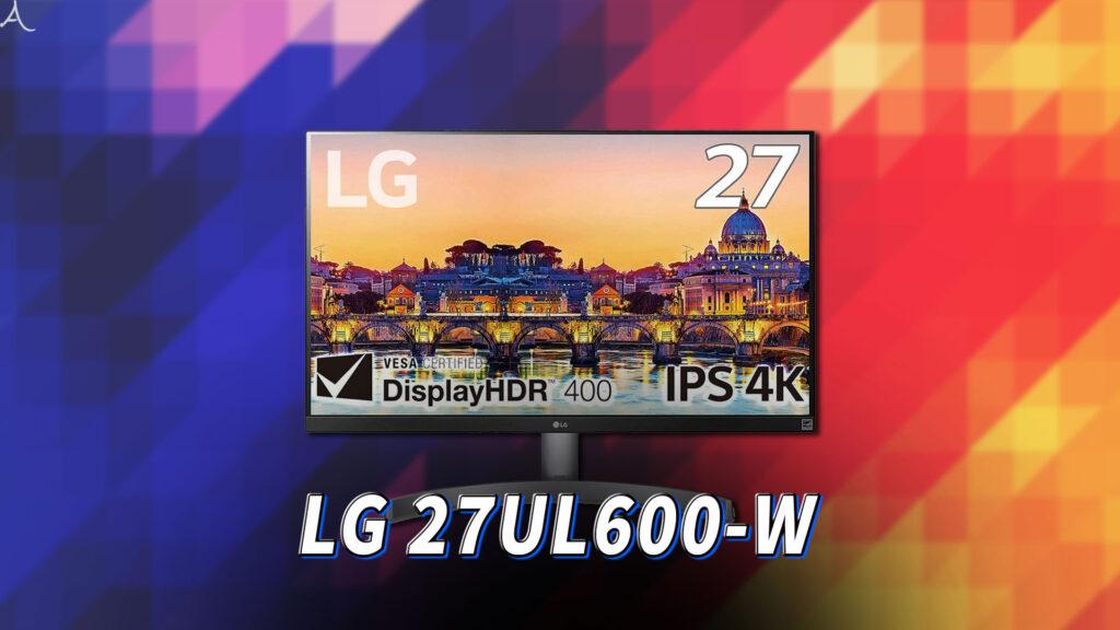 「LG 27UL600-W」はスピーカーに対応してる?PCスピーカーのおすすめはどれ?