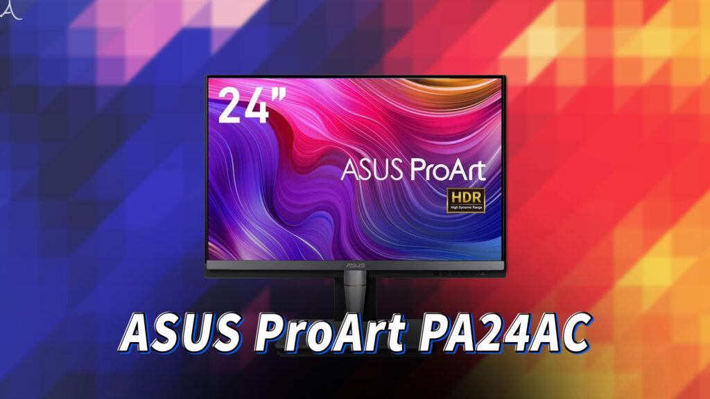 「ASUS ProArt PA24AC」はスピーカーに対応してる?PCスピーカーのおすすめはどれ?