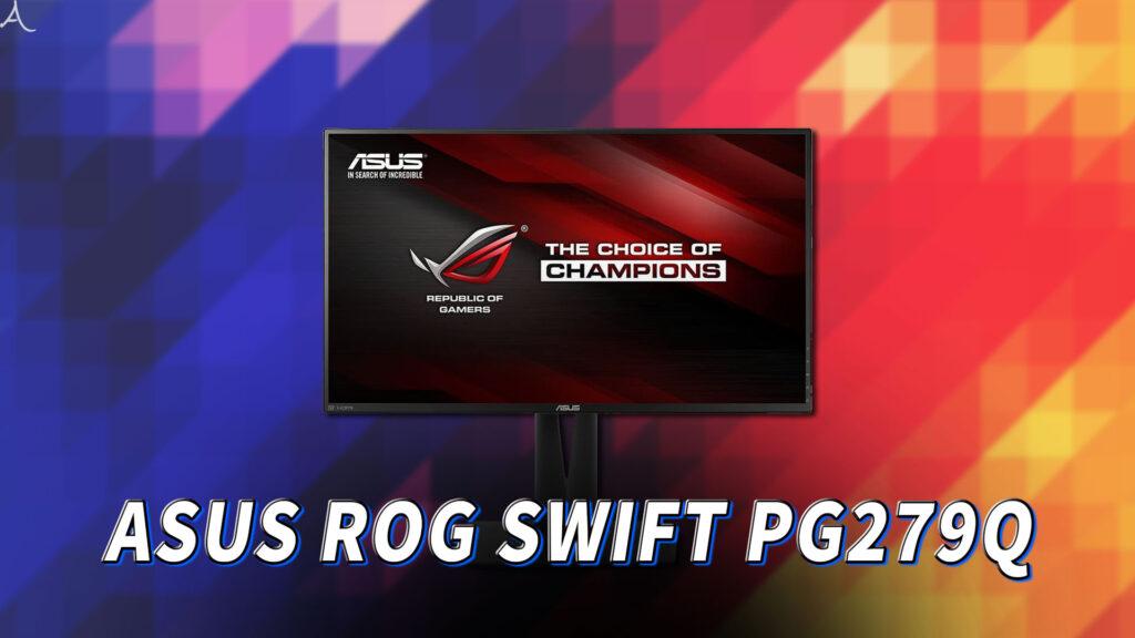 「ASUS ROG SWIFT PG279Q」はスピーカーに対応してる?PCスピーカーのおすすめはどれ?