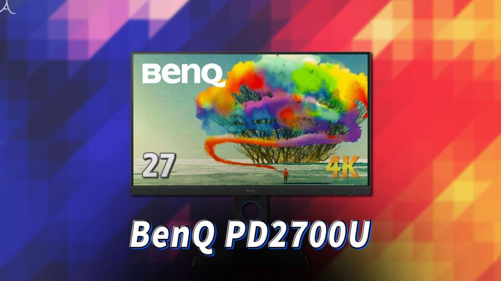 「BenQ PD2700U」はスピーカーに対応してる?PCスピーカーのおすすめはどれ?