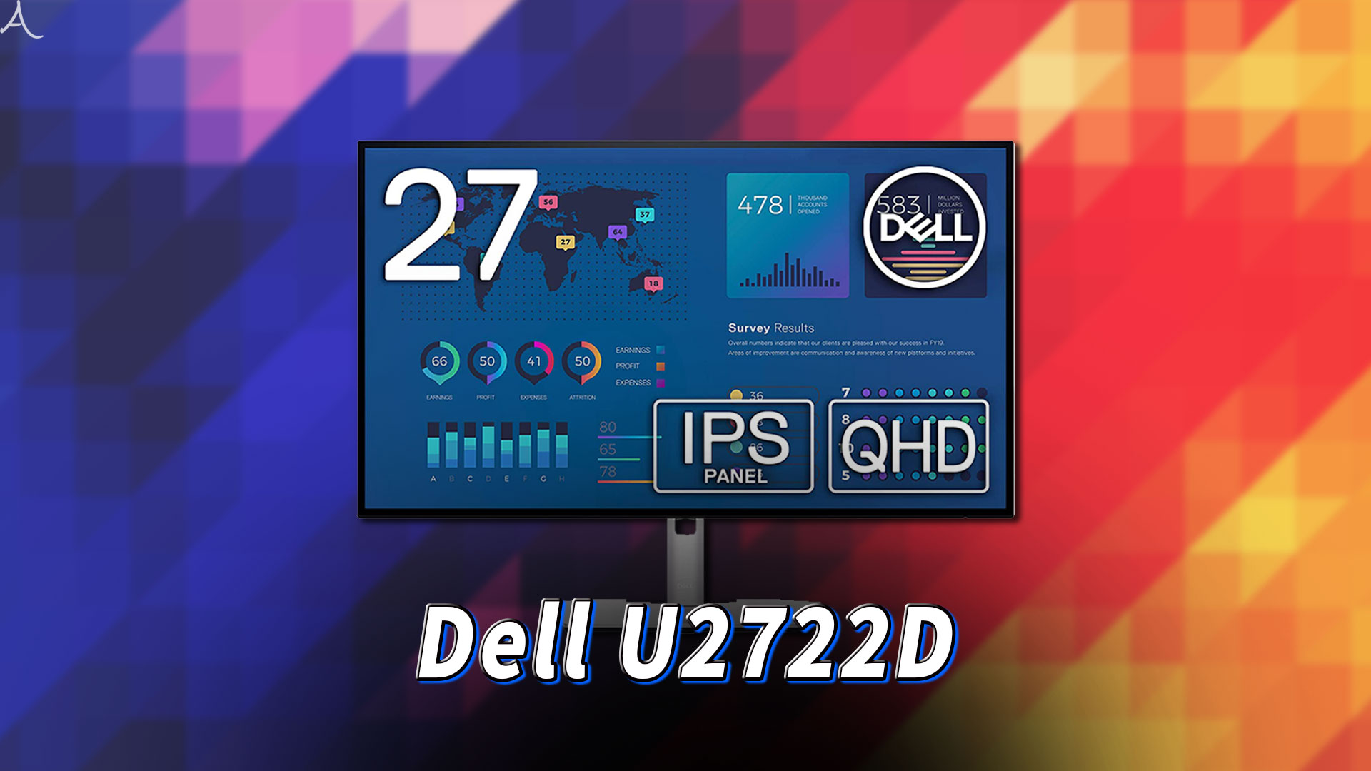 「Dell U2722D」ってモニターアーム使えるの?VESAサイズやおすすめアームはどれ?